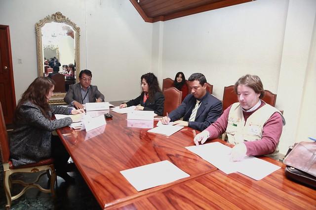 Comisión Nacional Ecuatoriana de la UNESCO Sesión Ordinaria correspondiente al año 2018