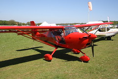 G-EFSD Aeropro Eurofox [LAA 376-15359] Popham 050518