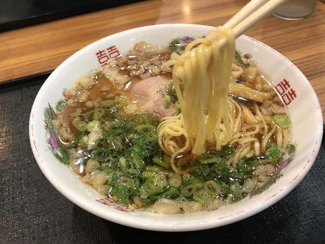 福山SAで尾道ラーメン