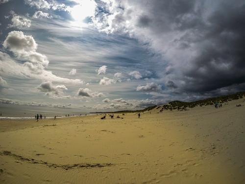 L'arrivo della tempesta (Curracloe beach 2017)