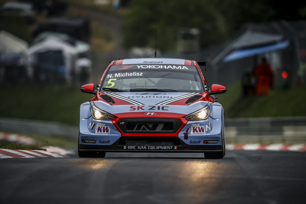 05 MICHELISZ Norbert (HUN), BRC Racing Team, Hyundai i30 N TCR, action during the 2018 FIA WTCR World Touring Car cup of Nurburgring, Germany from May 10 to 12 - Photo Clement Marin / DPPI