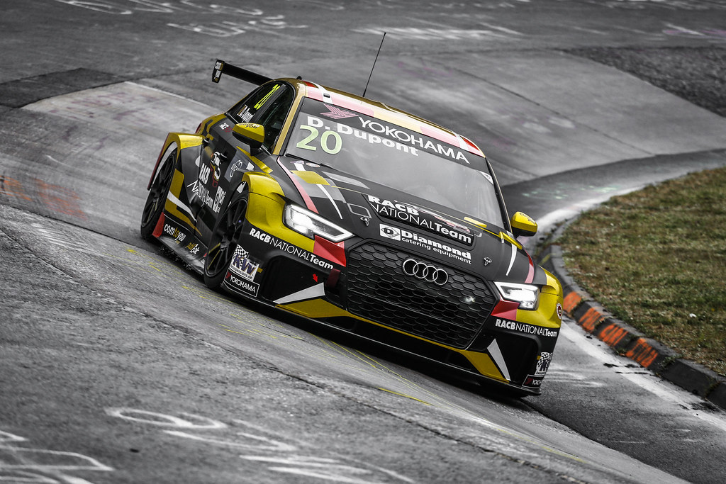 20 DUPONT Denis (BEL), Comtoyou Racing, Audi RS3 LMS, action during the 2018 FIA WTCR World Touring Car cup of Nurburgring, Germany from May 10 to 12 - Photo Clement Marin / DPPI