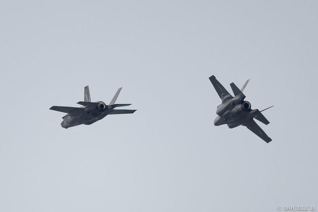 Iwakuni FD 2018 (154) VMFA-121 F-35B VK-10 & VK-11