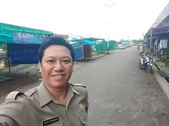 Peninjauan lapangan, ke #Pasar Segedong Kecamatan #Segedong, Kabupaten #Mempawah.