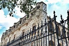 Me quedo en Guadalajara. Viendo el Palacio del Intentado.