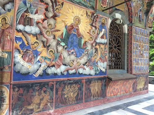стенописи Рилски манастир