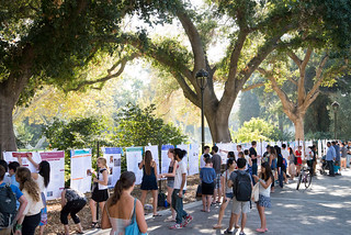 The summer research poster conference, September 4, 2014