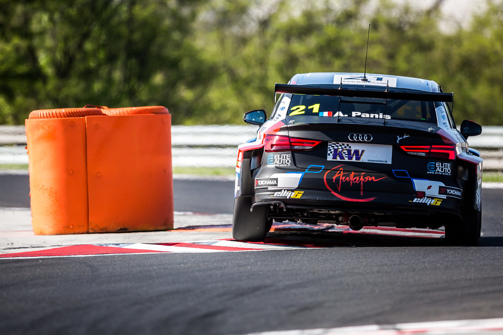 21 PANIS Aurelien (FRA), Comtoyou Racing, Audi RS3 LMS, action during the 2018 FIA WTCR World Touring Car cup, Race of Hungary at hungaroring, Budapest from april 27 to 29 - Photo Thomas Fenetre / DPPI