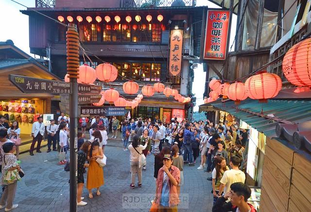 taiwan northern coast jiufen old street