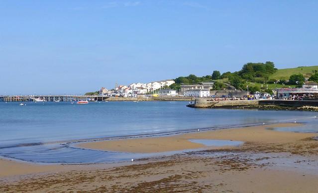 Swanage Bay, Dorset, England