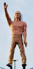 Native Indian Muffler Man, San Antonio TX
