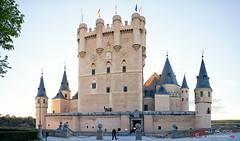 Alcazar de Segovia al ataradecer