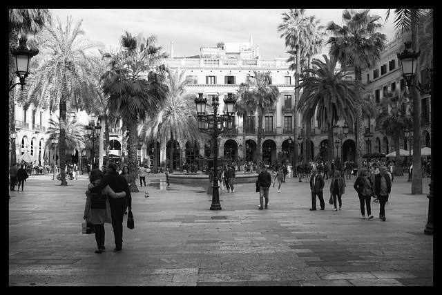 Plaza Reial in Barcelona