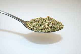 12 - Zutat Oregano / Ingredient oregano
