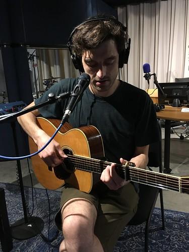 Gareth Dickson live on WFMU 2018-06-20