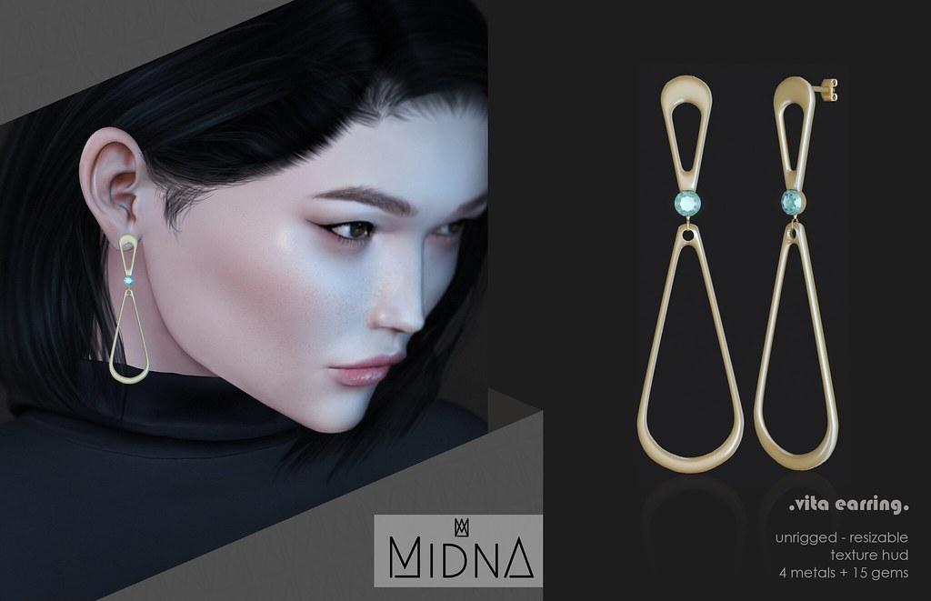 Midna – Earring Vita
