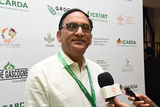 Sun, 05/06/2018 - 09:53 - Shiv Kumar Agrawal, Lead legume breeder at ICARDA interviewed by local press.