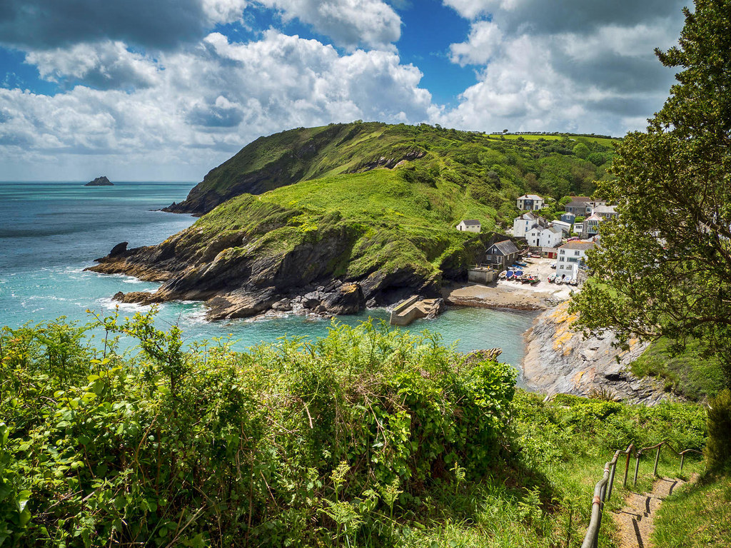 Portloe, Cornwall. Credit Bob Radlinski, flickr
