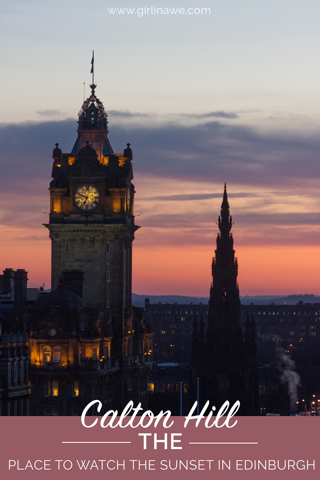 Why Calton Hill is the place to be to watch the sunset over Edinburgh