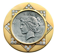 Bulgari Peace dollar