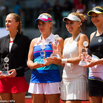 Elena Vesnina, Ekaterina Makarova, Timea Babos, Kristina Mladenovic