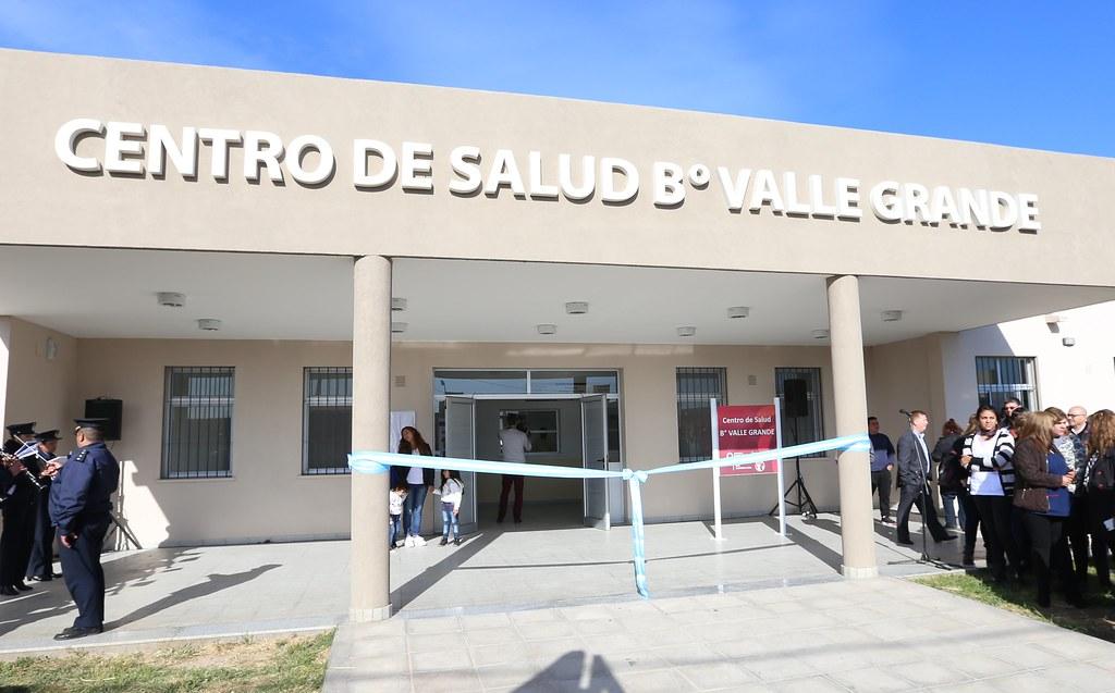San Juan: Inauguración del Centro de Salud barrio Valle Grande