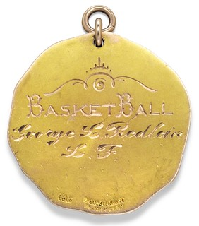 1904 Olympic Gold Medal for Basketball reverse