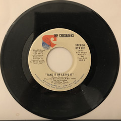 THE CRUSADERS:THAT'S HOW I FEEL(RECORD SIDE-B)
