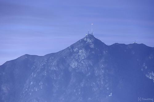 Castle Peak at Night