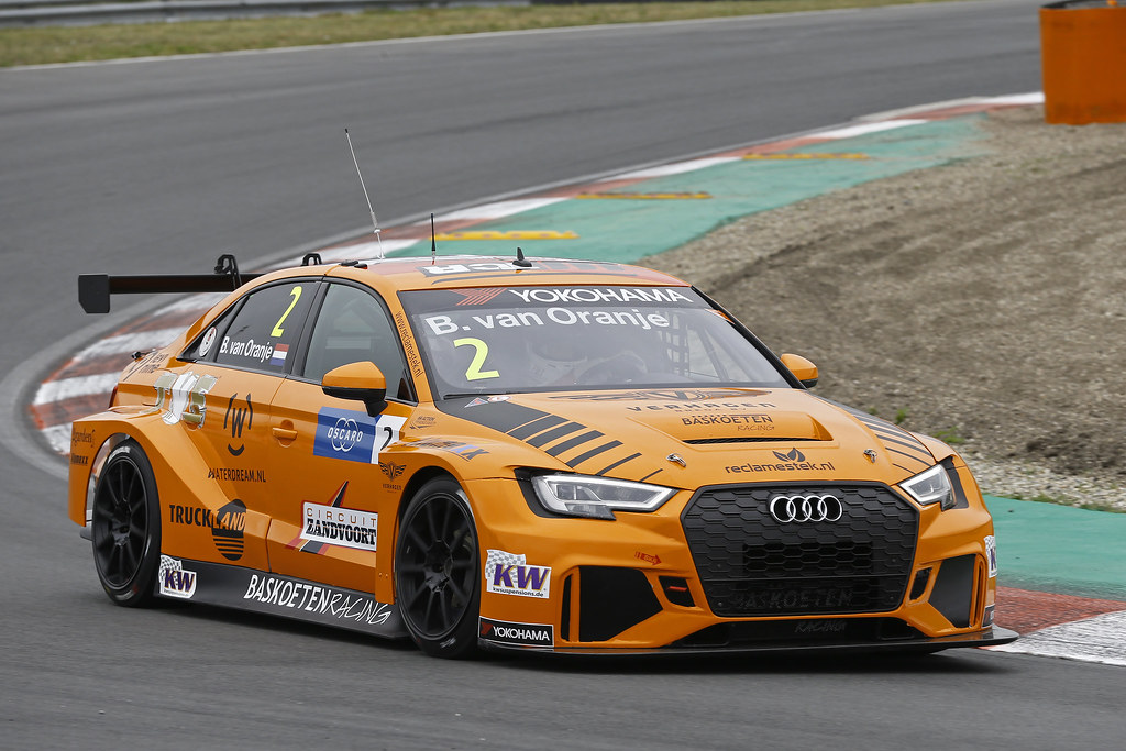 02 VAN ORANJE Bernhard (ned), Audi RS3 LMS, Bas Koeten Racing, action during the 2018 FIA WTCR World Touring Car cup of Zandvoort, Netherlands from May 19 to 21 - Photo Jean Michel Le Meur / DPPI