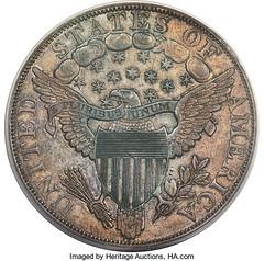 1804 Dollar Mickle specimen reverse