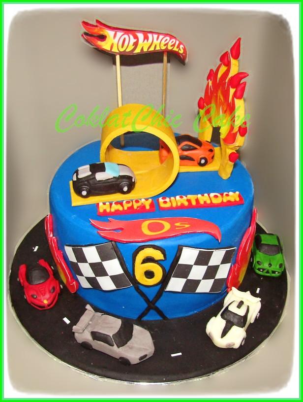 Cake HotWheels OS 15 cm