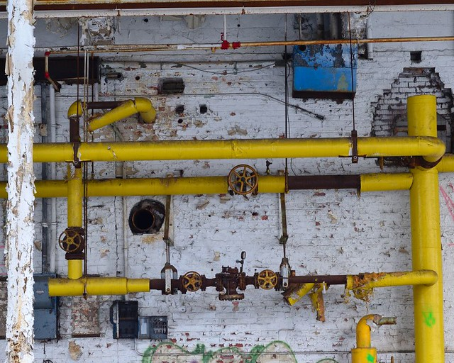 yellow pipes small