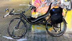 My bike number one ! - Every Oldenburger has three bicycles - so the statistics ! :-)