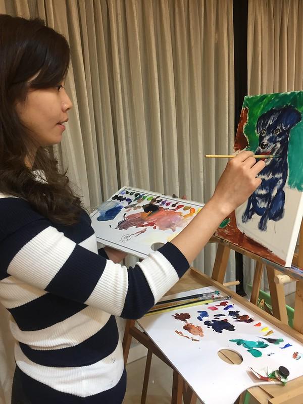 台北油畫教學 蔡瑞成畫室  捷運東門站012
