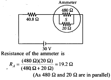 NEET AIPMT Physics Chapter Wise Solutions - Current Electricity explanation 2