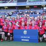 U18 Cup Final Celebrations