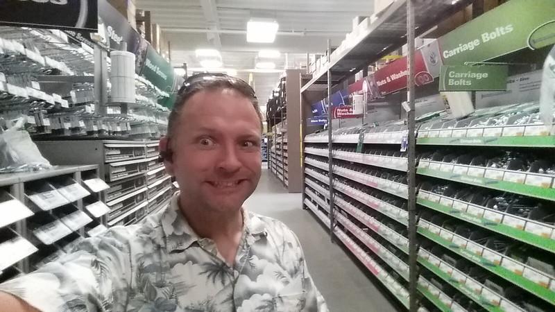 hardware store run