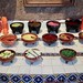 Selection of Toppings for Breakfast, Cocina de Maiz, San Cristóbal de las Casas, Chiapas, Mexico por dannymfoster