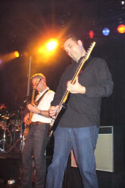 Aart speelde de bas.