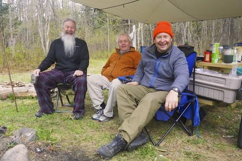 The RICKA crew - Earl, Bill and Erik