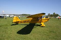G-BRXE Taylorcraft BC-12D [9459] Popham 050518
