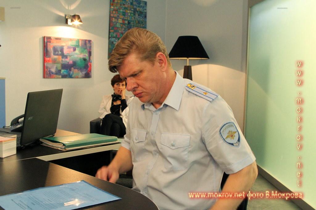 Фото Актер - Блохин Дмитрий, на сьемках «Морозова сезон первый»