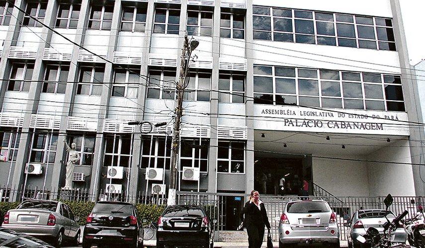 Os 7 marinheiros de 1ª eleição que chegaram à Assembleia Legislativa do Pará, Alepa, fachada