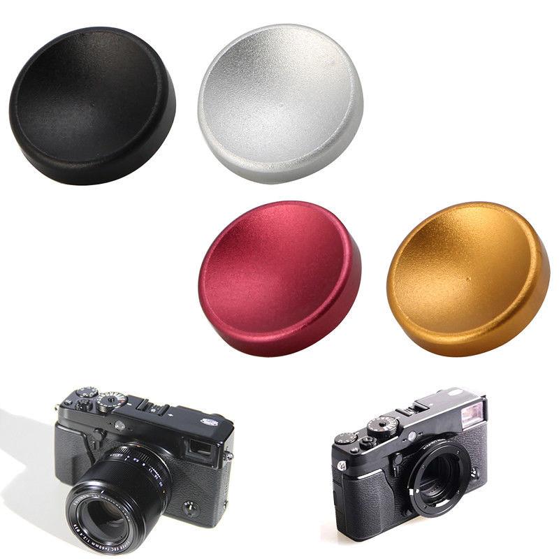 01 Nút bấm nhôm LÕM cho máy ảnh Fujifilm XT10 XT20 X30, Leica, Máy ảnh phim