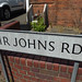 Sir Johns Road, Selly Park - road sign