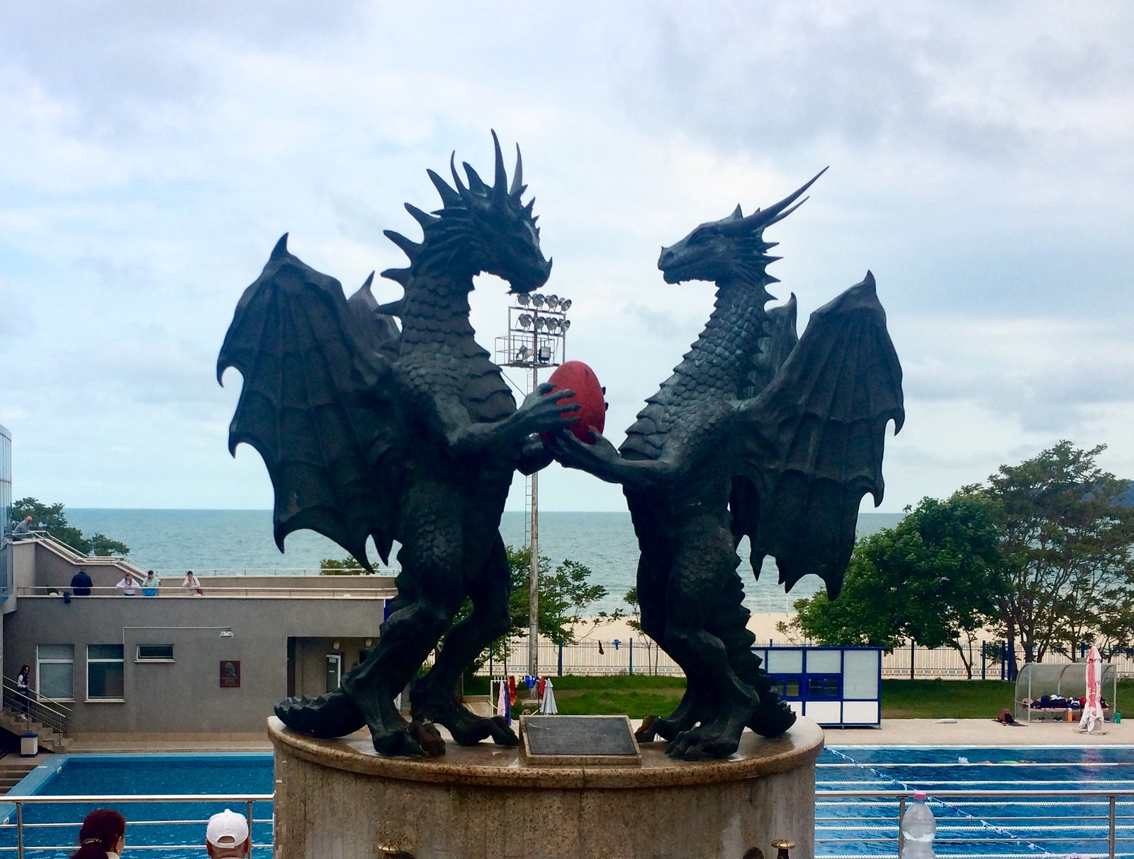 201705 - Balkans - Dragons at Natatorium - 18 of 66 - Varna - Varna, May 25, 2017