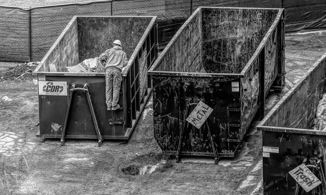 Extreme Dumpster Diving....