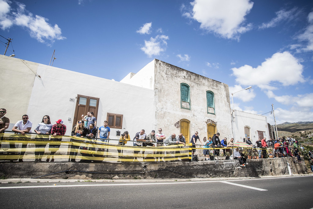 fans, Supporters, Public, Spectators during the 2018 European Rally Championship ERC Rally Islas Canarias, El Corte Inglés,  from May 3 to 5, at Las Palmas, Spain - Photo Gregory Lenormand / DPPI