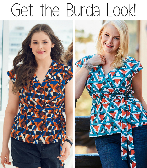 Get the burda look Plus